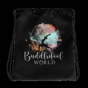 Buddhifool Drawstring Bag