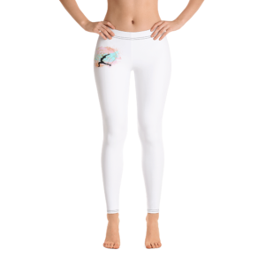 Buddhifool World Leggings (White)