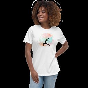 Buddhifool World Women's Relaxed T-Shirt (White)